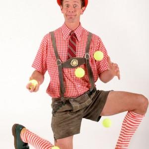 Hilby the Skinny German Juggle Boy