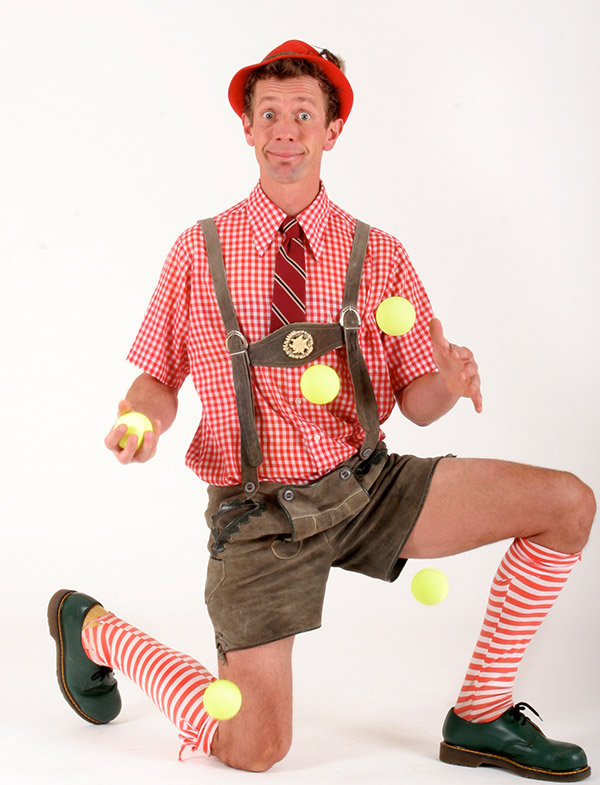 Hilby the Skinny German Juggle Boy,